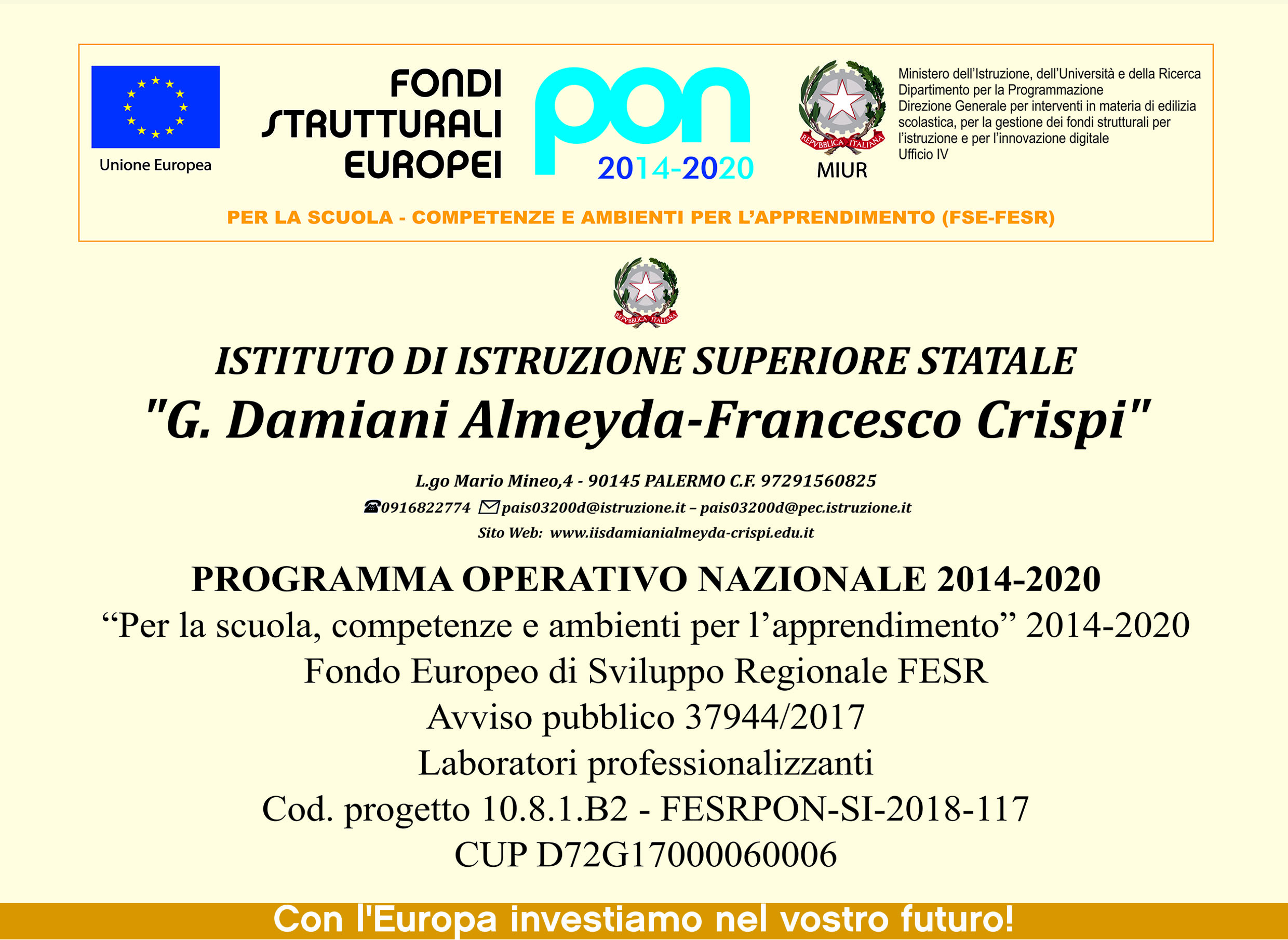 FESRPON_LABORATORIO_PROFESSIONALIZZANTI.